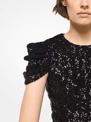 Michael Kors Sequined Sheath Dress