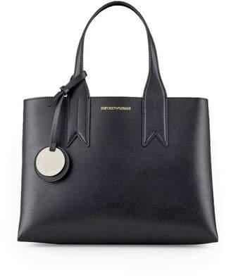 Emporio Armani Black Red Shopping Bag