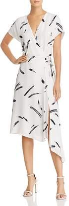 Joie Bethwyn Silk Wrap Dress