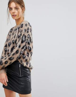 Esprit Animal Print Sweater