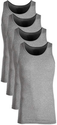 Alfani Men's 4-Pk. Cotton Tank Tops, Created for Macy's