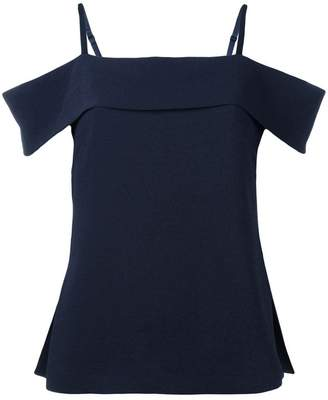 Elizabeth and James cold-shoulder top