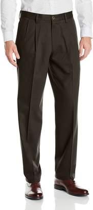 Dockers Classic Fit Signature Khaki Pant - Pleated D3, Timberwolf/Stretch, 44 30