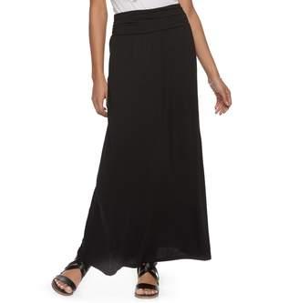 Juniors' Joe B Knit Maxi Skirt