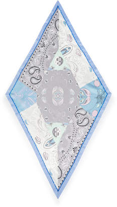 Henri Bendel Bandana Diamond Silk Scarf