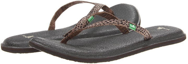 Sanuk Yoga Spree Lynx (Brown) - Footwear