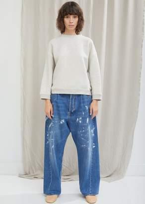 Acne Studios Splatter Paint Wide Leg Jean