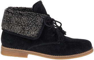 Hush Puppies Womens Marthe Cayto Booties Lace-up