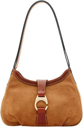 Dooney & Bourke Derby Suede Shoulder Bag