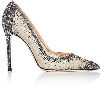 fcdcf4f5953 Gianvito Rossi Women s Rania Crystal-Embellished Pumps - Dark Grey