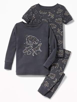Old Navy Constellation-Graphic 3-Piece Sleep Set for Toddler & Baby