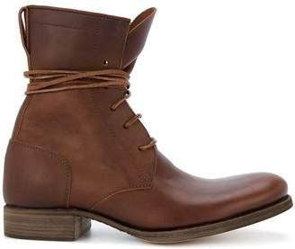 C Diem 5-Hole lace-up boots