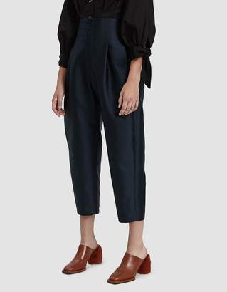 Colovos Satin Twill Buckle Pant