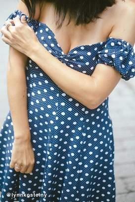 Kimchi Blue Melissa Empire Waist Off-The-Shoulder Dress $59 thestylecure.com