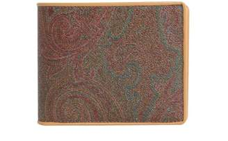 Etro Paisley Printed Wallet