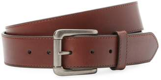 Will Leather Goods Men's Flat Strap Belt