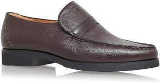 Stemar Leather Slip-On Loafers