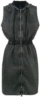 Diesel hooded denim dress