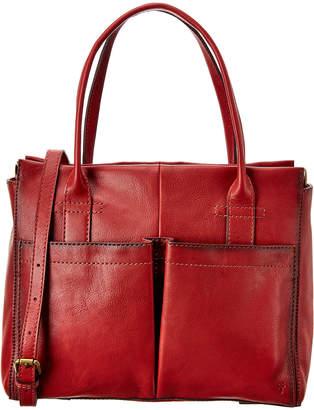 Frye Mindy Pocket Leather Satchel