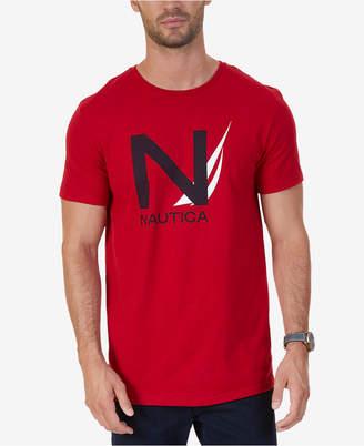 Nautica Men's Big & Tall Graphic-Print T-Shirt