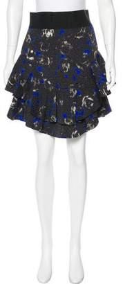 Yigal Azrouel Ruffle-Accented Mini Skirt