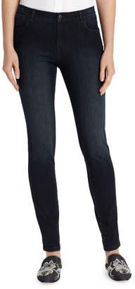 Lafayette 148 New York Mercer Stretch-Denim Slim-Leg Jeans, Plus Size
