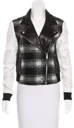 Paige Wool Biker Jacket w/ Tags