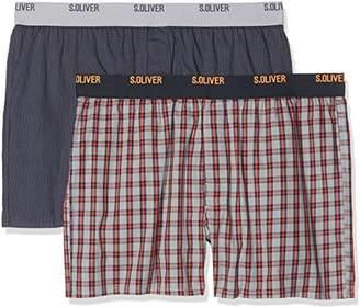 S'Oliver Men's 26.899.97.4235 Boxer Shorts,(Manufacturer Size: 8)