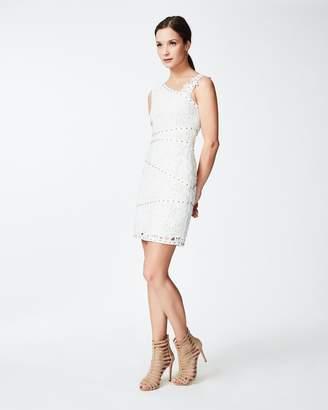 Nicole Miller one Shoulder Lace Dress