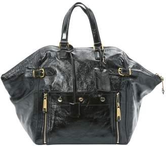 Saint Laurent Downtown patent leather handbag