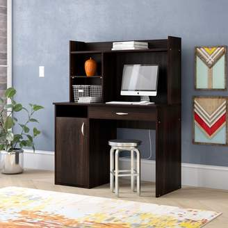 Andover Mills Ryker Computer Desk with Hutch