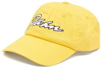 PAM Logo Embroidered Cotton Cap - Mens - Yellow