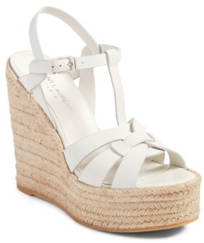Women's Saint Laurent Tribute Espadrille Wedge