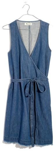 Women's Madewell Denim Wrap Dress