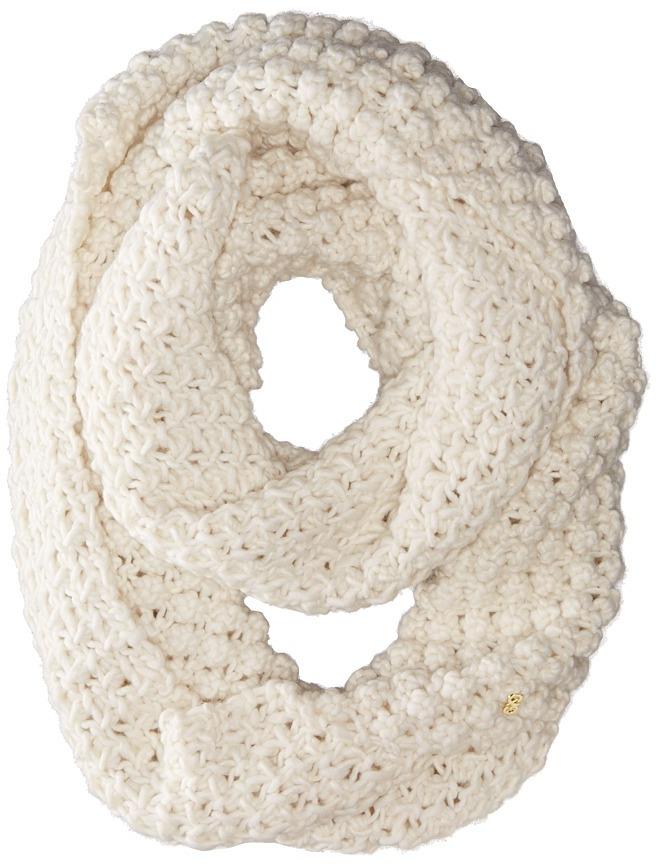 Cole Haan Cole Haan Popcorn Stitch Handknit Infinity Scarf