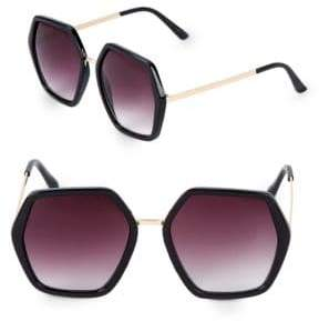 Fantas-Eyes 55M Hexagon Sunglasses