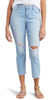 Levi's Curvy Crop Straight Leg Jeans