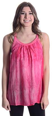 C&C California Women's Haze Tie Dye Racer Back Tank