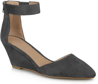 Journee Collection Kova Wedge Pump - Women's