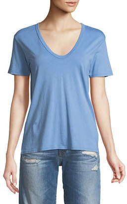 AG Jeans Henson V-Neck Cotton Tee