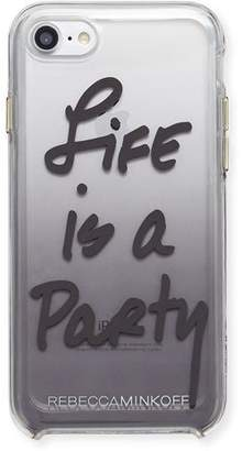 Rebecca Minkoff Life Is A Party Ombre Phone Case, Black