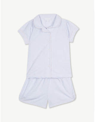 The Little White Company Swiss Dot cotton-blend pyjamas 1-6 years