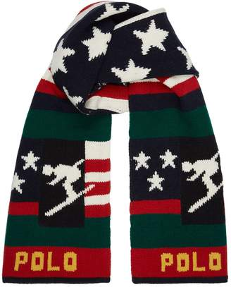 Polo Ralph Lauren Knitted Skier Scarf