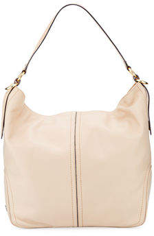 Cole Haan Julianne Smooth Leather Bucket Bag
