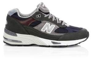 New Balance 991 Suede& Leather Sneakers
