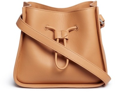 3.1 Phillip Lim 3.1 Phillip Lim 'Soleil' mini leather drawstring bucket bag