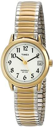 Timex Women's T2H491 Easy Reader Two-Tone Stainless Steel Expansion Band Watch