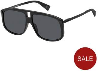 Marc Jacobs Black Visor Sunglasses