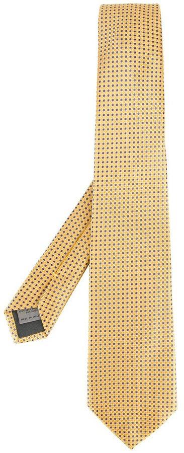 CanaliCanali dots pattern tie