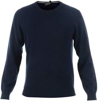 Ermenegildo Zegna Blue Cashmere Sweater